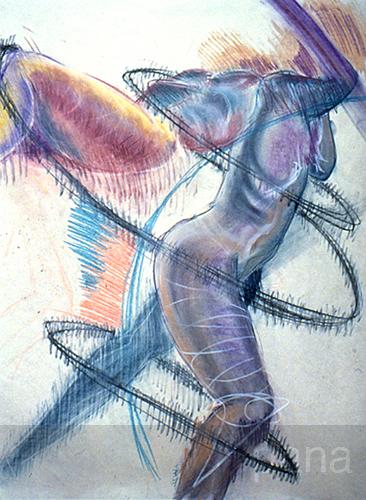 swirling nude (1994)