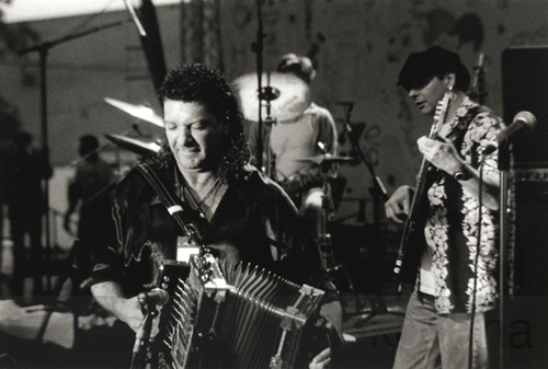 wayne toups and tommy shannon, Minneapolis 1996