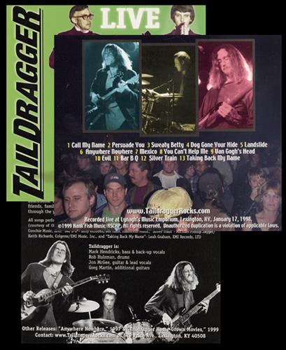 Taildragger - Live (2001)