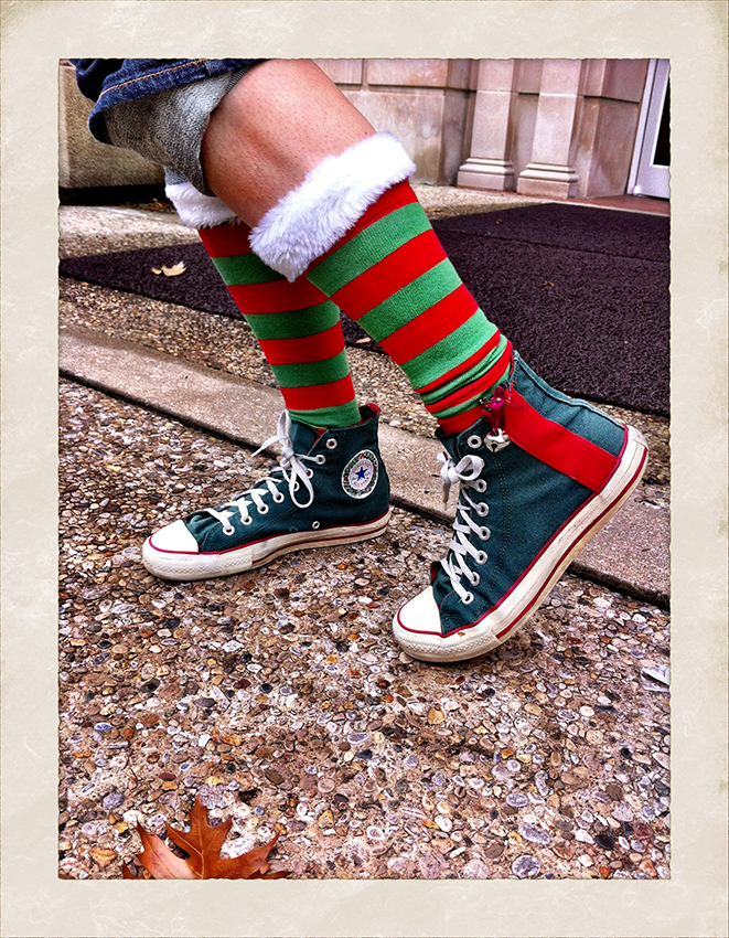 jingle bell sock