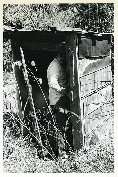 osa in the outhouse