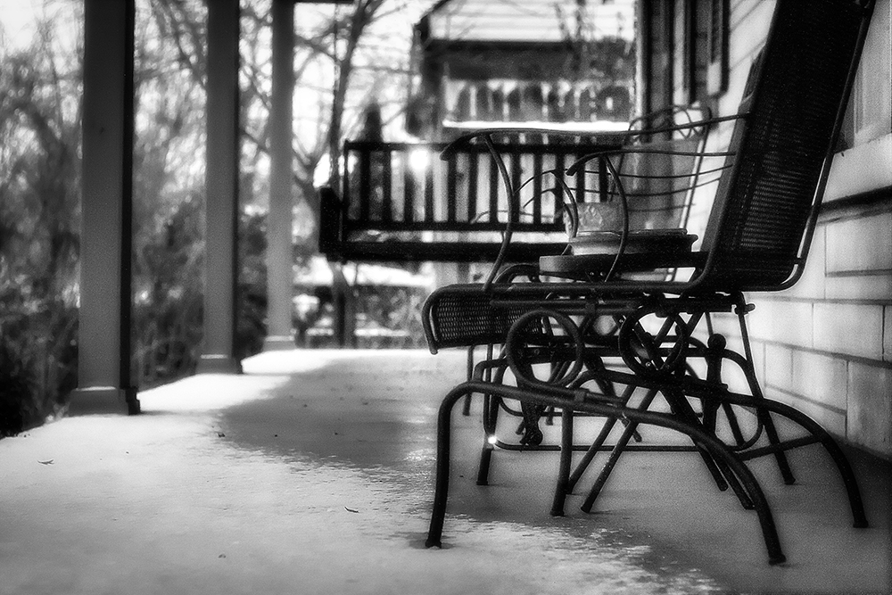 cold porch