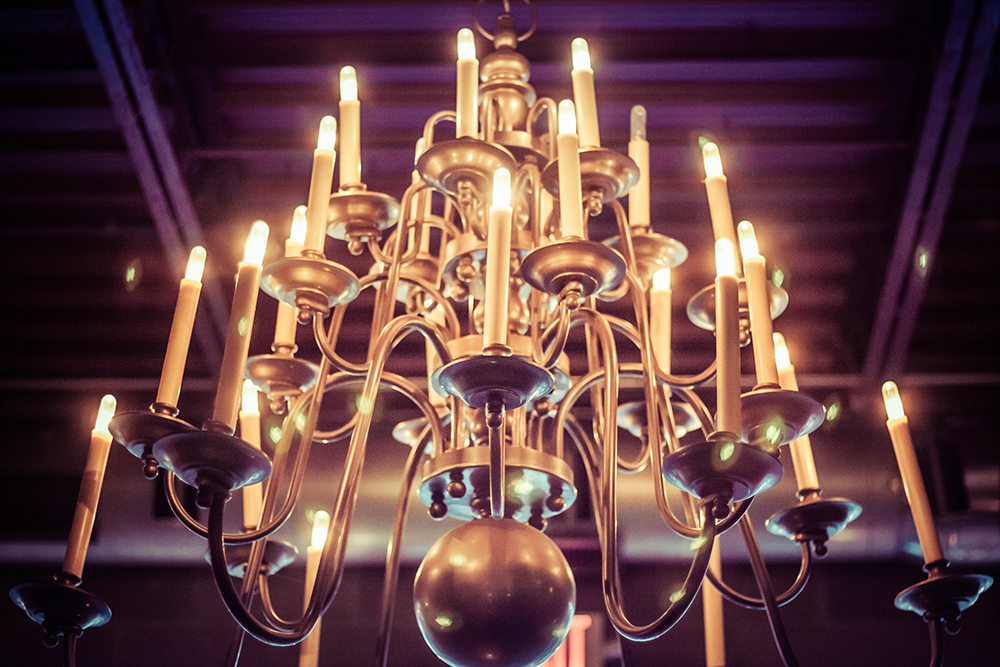 candelabra from on high