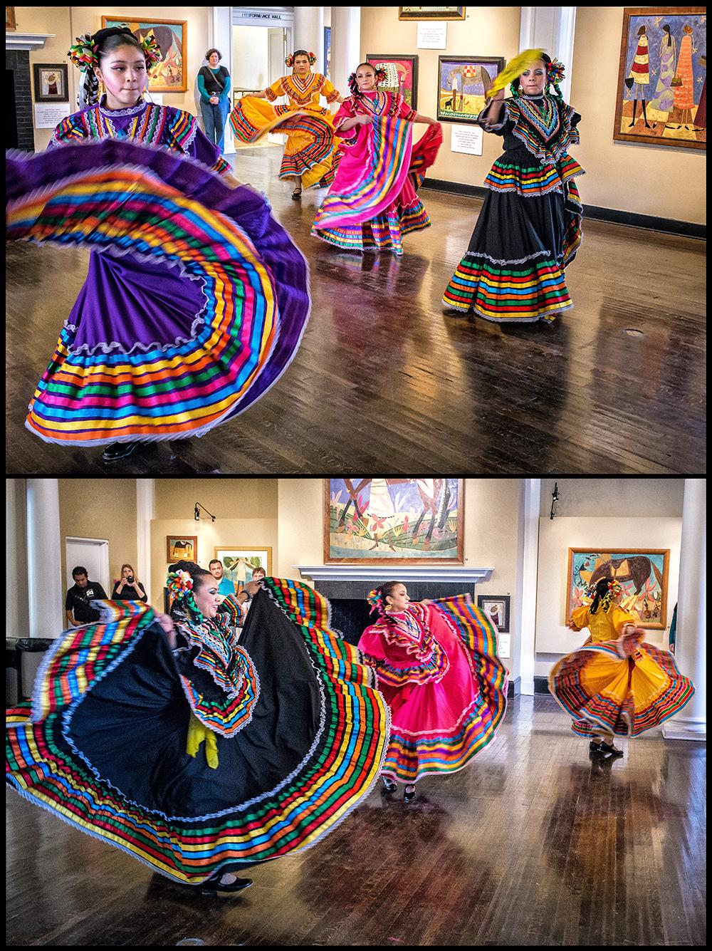 dancing color